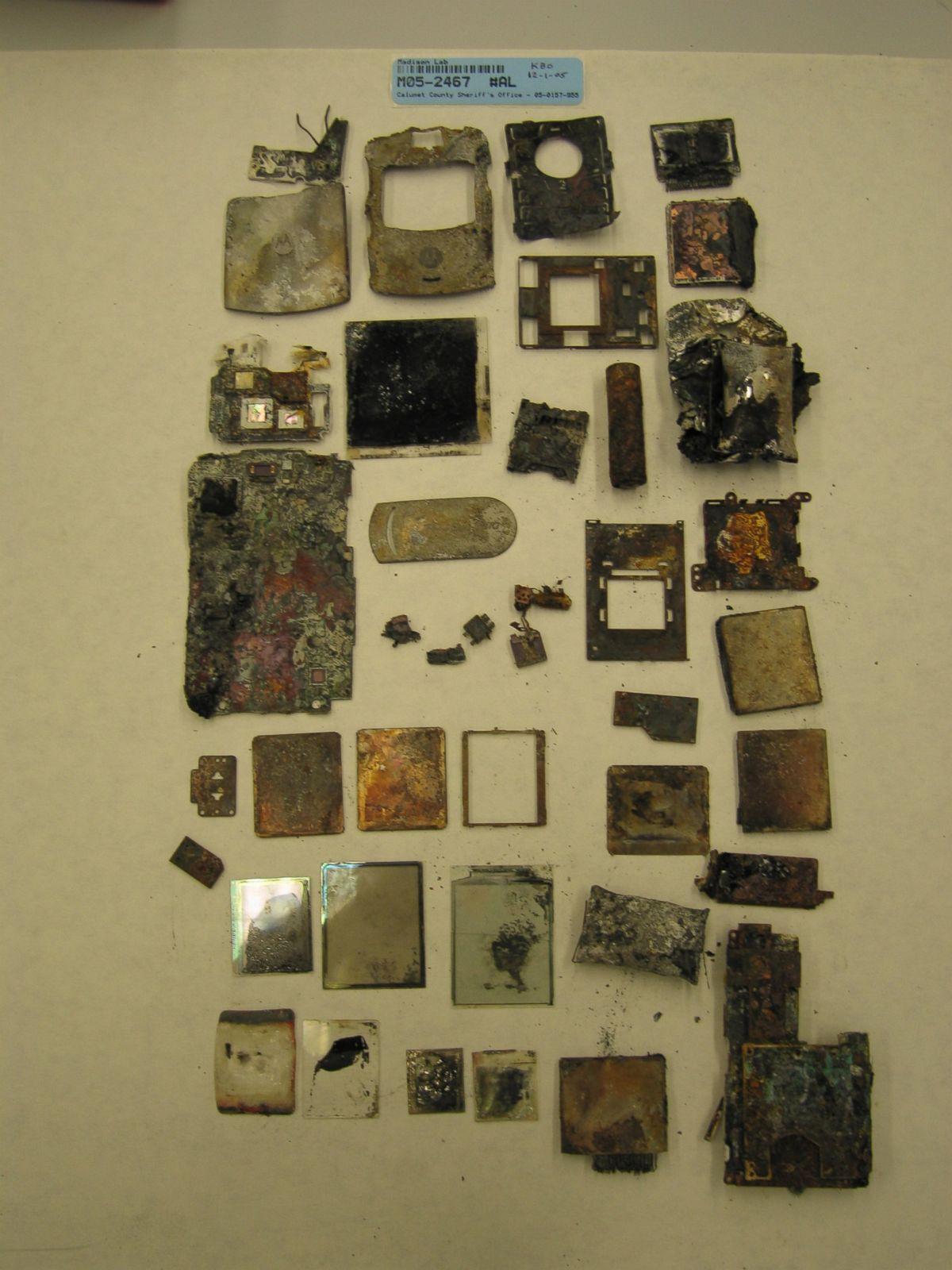 exhibit-burnt-cell-phone